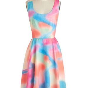 "Modcloth ""A Good Vibrant"" Dress"